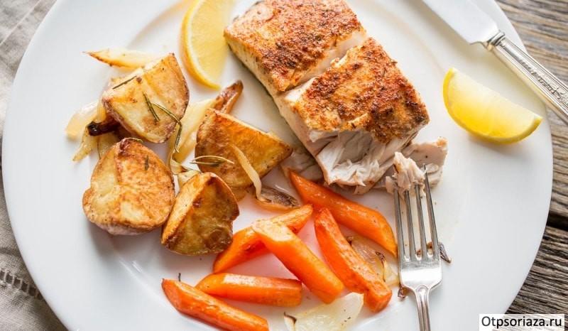 Диета при псориазе какие продукты нельзя кушать