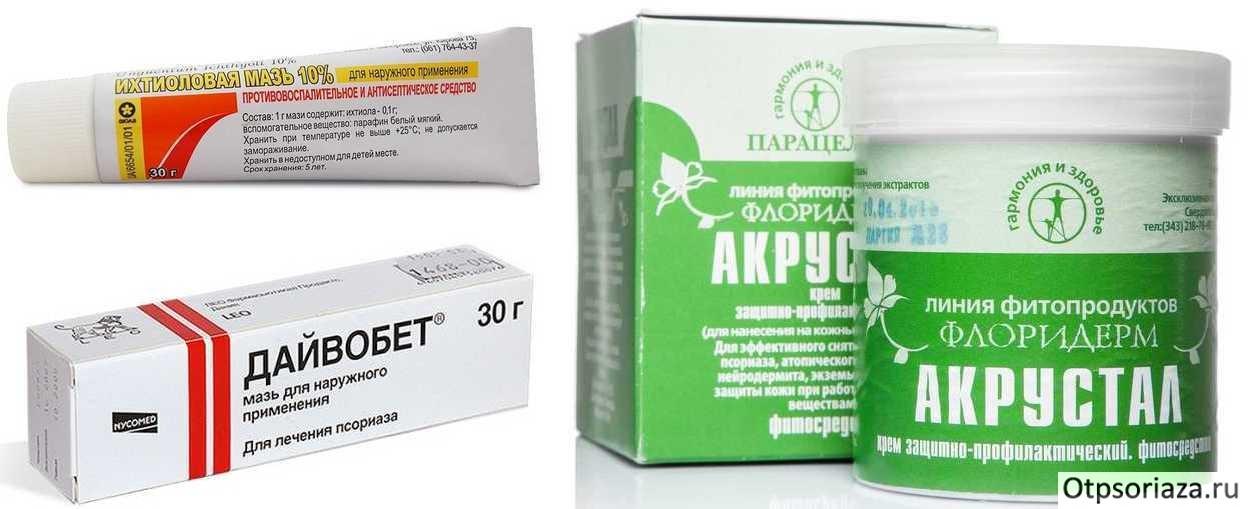 Характеристика лекарственных препаратов от псориаза