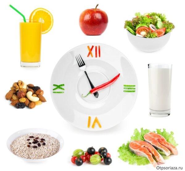 Пять приемов пищи