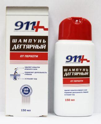Шампунь 911 дегтярный