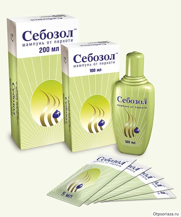 Крем и шампунь от псориаза