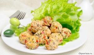 Блюда при псориазе: котлеты из индейки на пару